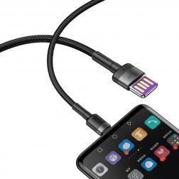 Кабель USB BASEUS Cafule HW, USB - Type-C, 5А, 40W, 1М