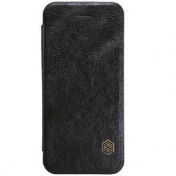 Чехол книжка кожаный Nillink Apple iPhone 7 (black)