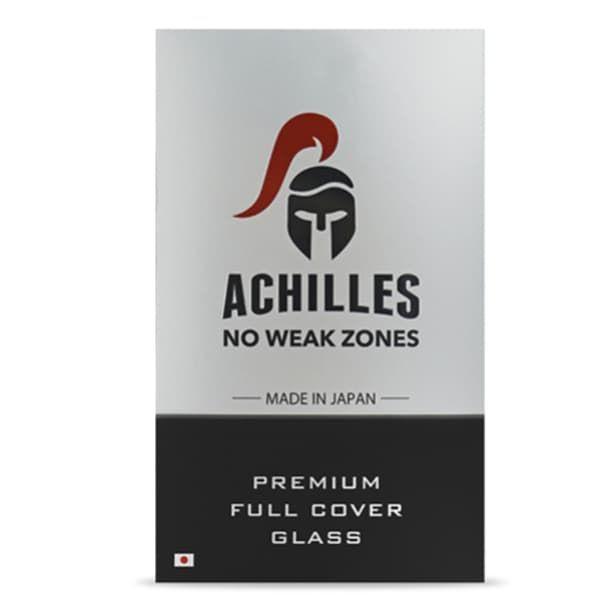 Защитное стекло для iPhone XR Achilles 5D (Black)