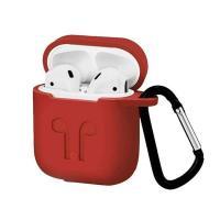Силиконовый чехол Silicon Case для AirPods (Красный)