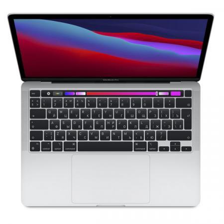 "Apple MacBook Pro 13"" (M1, 2020) 8 ГБ, 1 TБ SSD, Touch Bar, Silver (Серебристый)"