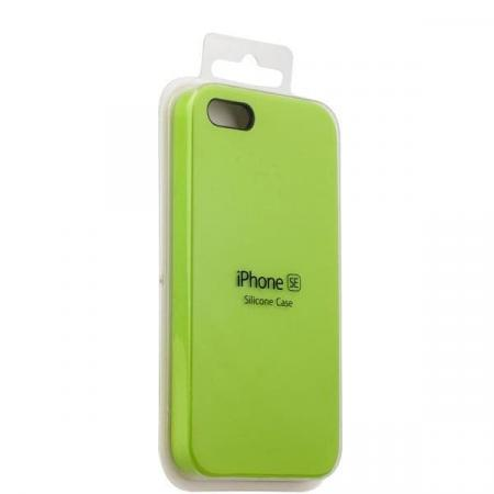 Silicon Case iPhone 5/5s/5SE (Green)