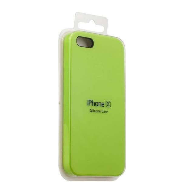 Silicon Case iPhone 5/5s/5SE (Green)
