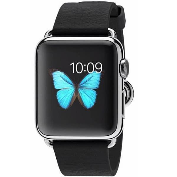 Apple Watch Series 1 38mm Stainless Steel Case with Black Classic Buckle