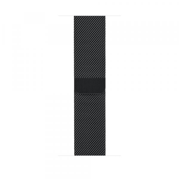 Apple Watch Series 2 38mm Space Black Stainless Steel Case with Space Black Milanese Loop