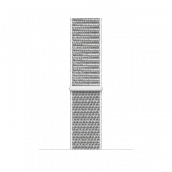 Apple Watch Series 3 42mm GPS+Cellular Silver Aluminum Case with Seashell Sport Loop