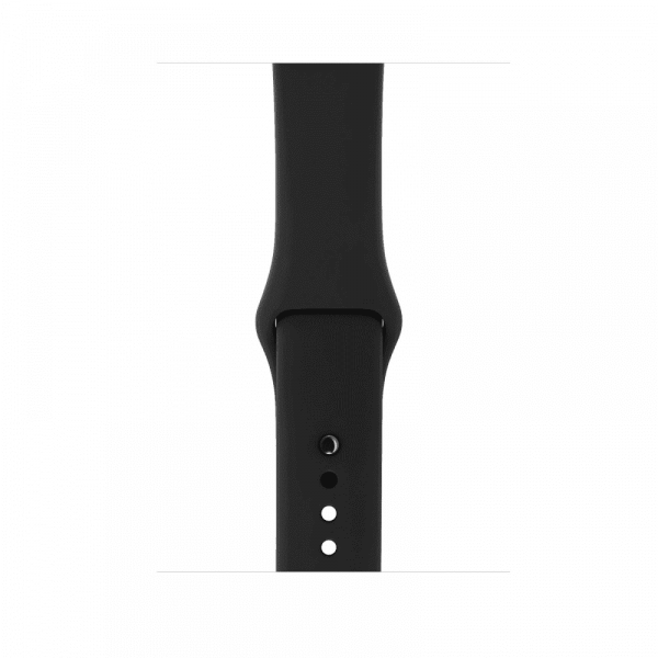 Apple Watch Series 3 38mm GPS+Cellular Space Gray Aluminum Case with Gray Sport Band