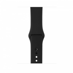 Apple Watch Series 3 38mm GPS Space Gray Aluminum Case with Gray Sport Band