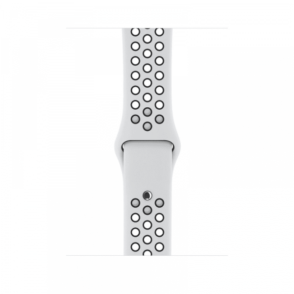 Apple Watch Series 3 42mm GPS Silver Aluminum Case with Pure Platinum/Black Nike Sport Band
