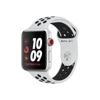 Apple Watch Series 3 Nike+ 38mm GPS+Cellular Silver Aluminum Case with Pure Platinum/Black Nike Sport Band