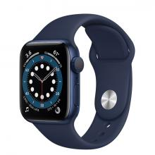 Apple Watch 6 40mm GPS Blue Aluminum Case with Blue Sport Band