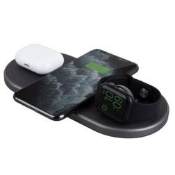 Беспроводное зарядное устройство Uniq Aereo Plus для iPhone, Apple Watch и AirPods Pro