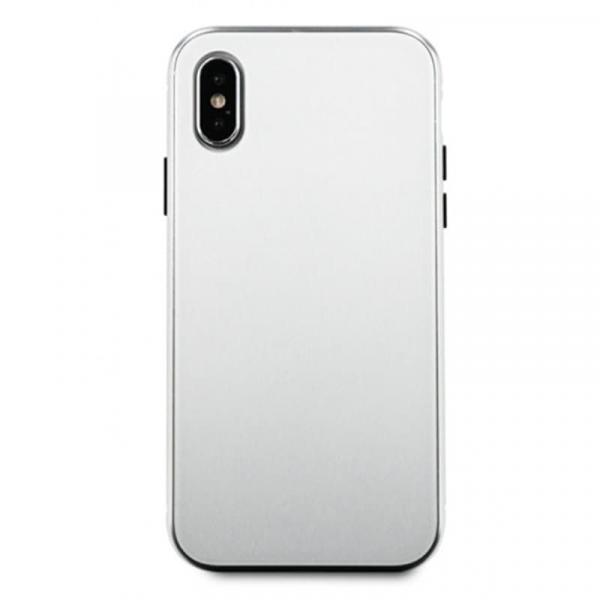 Чехол для iPhone X Magnet glass case (Белый)