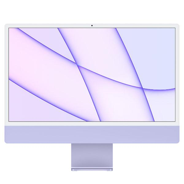 "Apple iMac 24"" Retina 4,5K, (M1 8C CPU, 8C GPU), 8 ГБ, 512 ГБ SSD, фиолетовый"