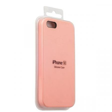 Silicon Case iPhone 5/5s/5SE (Pink)