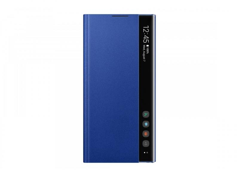 Чехол Samsung Clear View Cover Note10+ Blue
