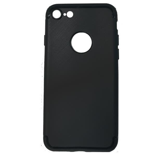 Чехол бампер cиликоновый для iPhone 7 (Black)