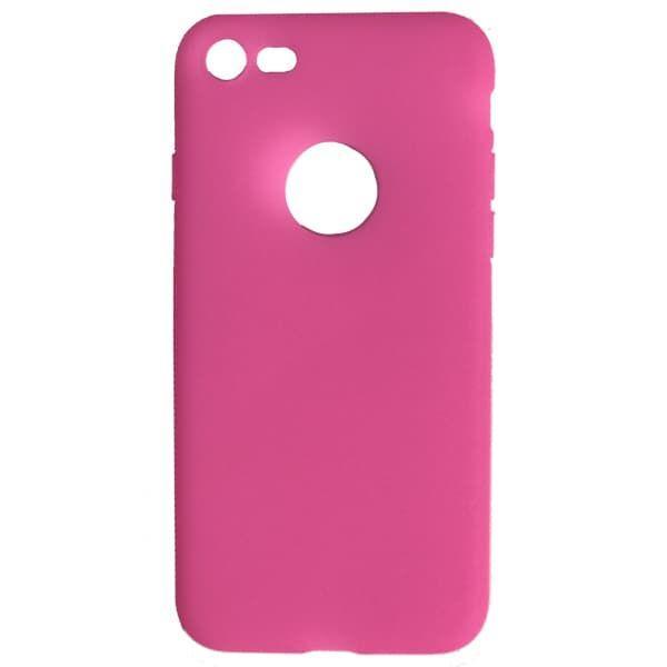 Чехол бампера силиконовый  Krutoff для iPhone 7/8 (Pink)