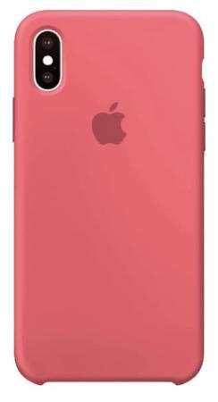 Чехол для iPhone X Силиконовый , цвет (Pink)