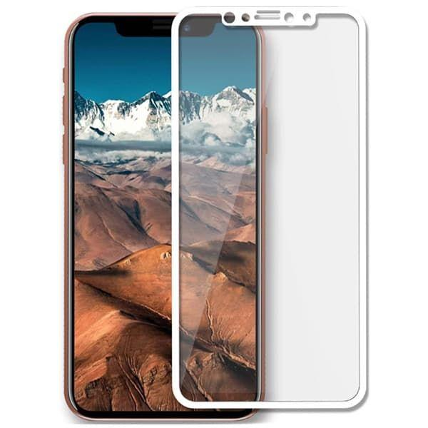 Защитное стекло 3D для iPhone X (White)