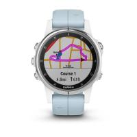 Смарт Часы Garmin Fenix 5S Plus White / Blue Band
