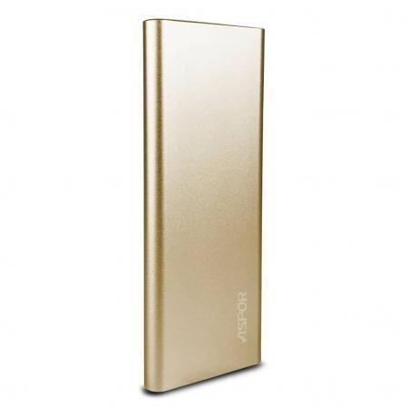 Power Bank Aspor 10000 mAh A383 Gold/Rose Gold/Black