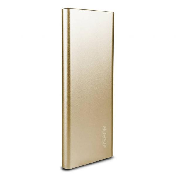 Power Bank Aspor 10000 mAh A383 Gold/Rose Gold/Black