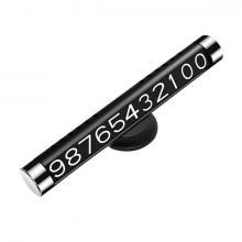 Автомобильная табличка для номера телефона