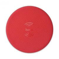 CЗУ Hoco CW14 Round wireless charger (индукционное) (red)