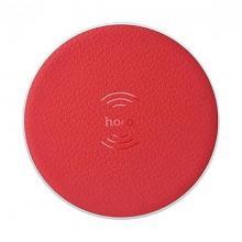 CЗУ Hoco CW14 Round wireless charger (индукционное) (red)