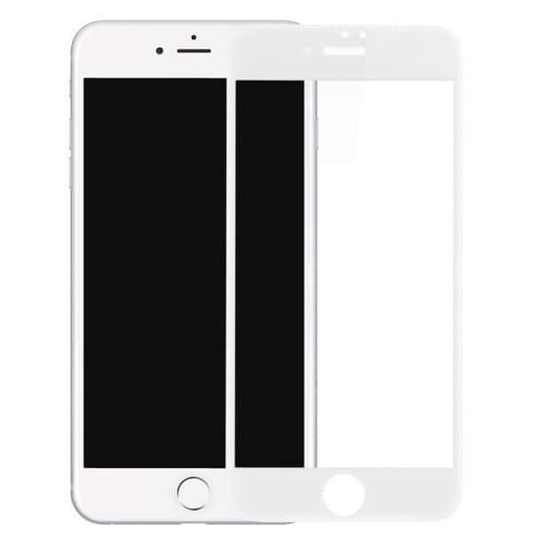 Защитное стекло  3D (0.33m) Apple iPhone 7/8 (White)