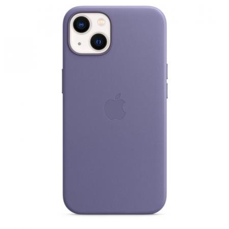 Кожаный чехол MagSafe для iPhone 13 mini, цвет «сиреневая глициния»