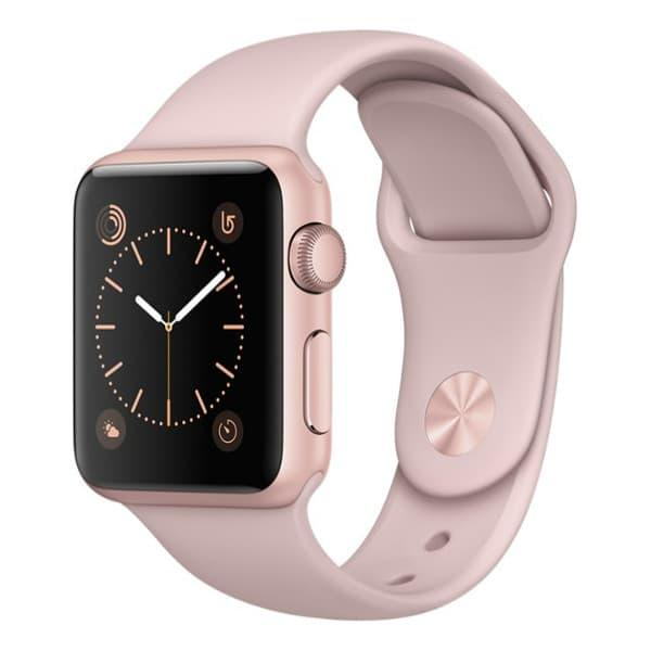 Apple Watch Series 2 38mm Rose Gold Aluminum Case with Pink Sand Sport Band