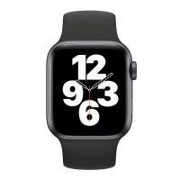 Монобраслет для Apple watch 44mm Black Solo Loop