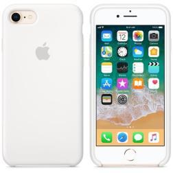 Силиконовый чехол для iPhone 7 White