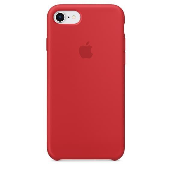 Силиконовый чехол для iPhone 7 Red