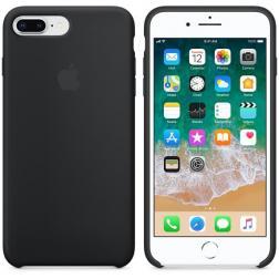 Cиликоновый чехол iPhone 7 Plus Black Matte