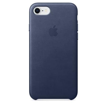 Кожаный чехол для iPhone 7 Blue