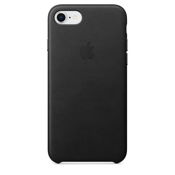 Кожаный чехол для iPhone 7 Black