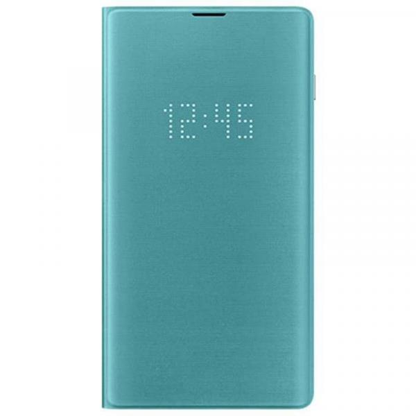 Чехол книжка View LED Cover  на Samsung s10+ ( cobalt blue)