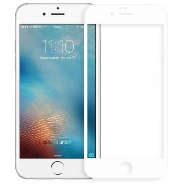 Защитное стекло Ainy 3D (0.33m) Apple iPhone 6/6s White