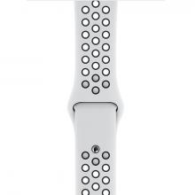 Ремешок Aple Whatch Nike 44/42 mm белый/чёрный