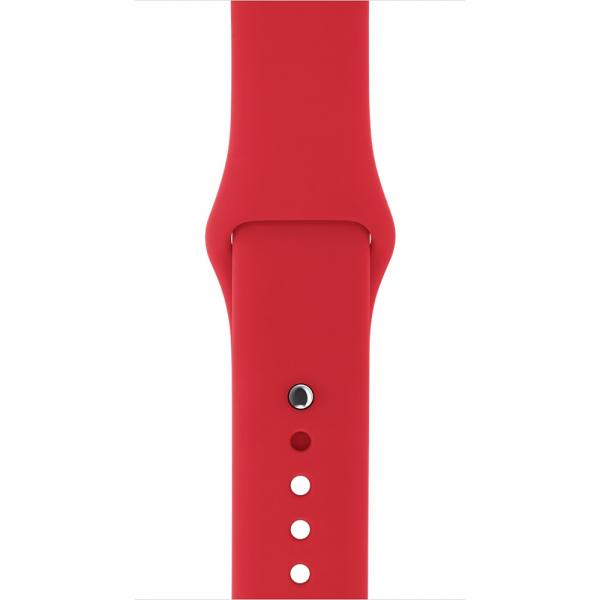 Спортивный ремешок для Apple Whatch 38/42 mm RED