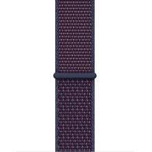 Ремешок нейлоновый для Apple Watch 44/42мм синий
