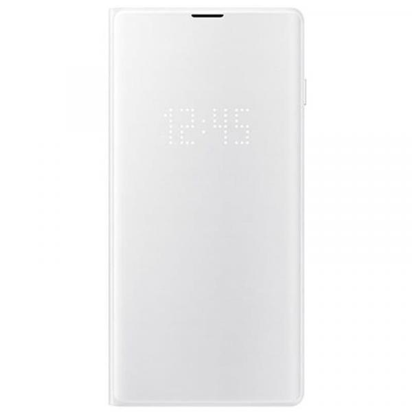 Чехол книжка View Led на Samsung s10 (Silver)