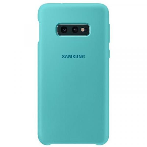Чехол Samsung Silicone Cover для Galaxy S10е зеленый