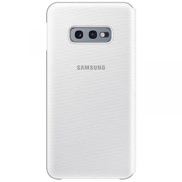 Чехол книжка View Led на Samsung s10e (Silver)