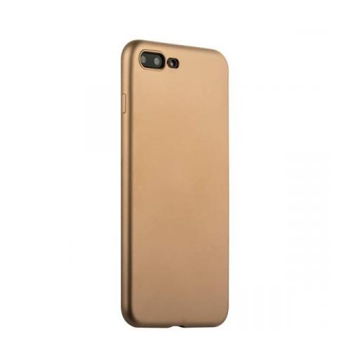 Силиконовый чехол накладка для iPhone 7 plus J-Case Gold