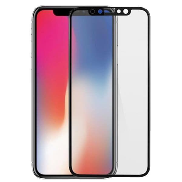 Защитное стекло 3D для iPhone X (Black)
