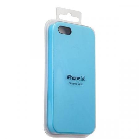 Silicon Case iPhone 5/5s/5SE (Blue Light)